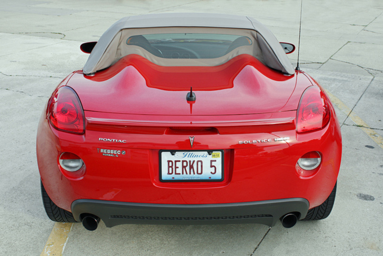 2007 Pontiac Solstice GXP Roadster (5 of 5) | Flickr - Photo Sharing!