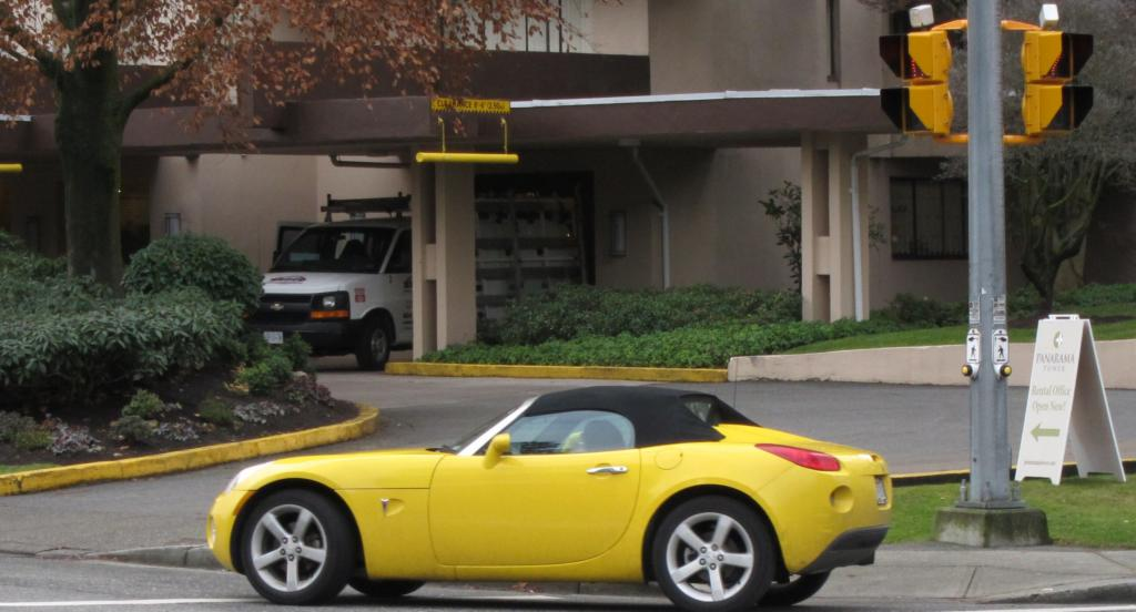 Pontiac Solstice part of a yellow theme | Flickr - Photo Sharing!