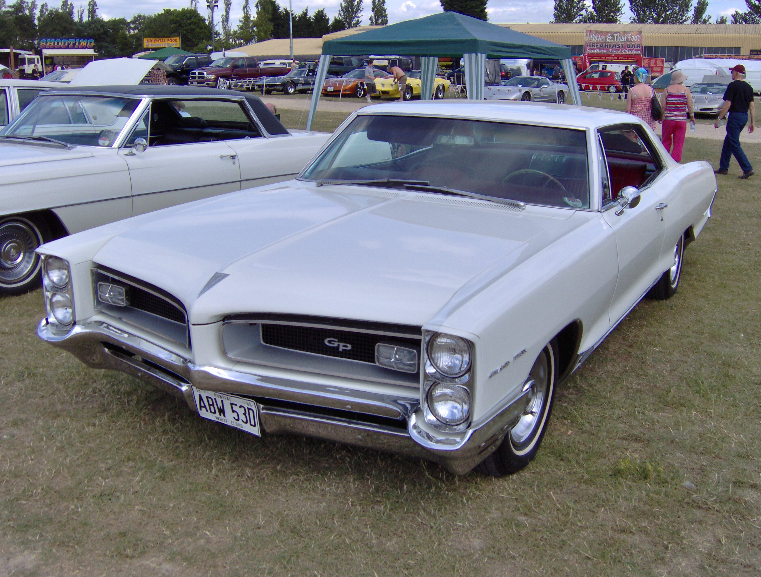 1966 Pontiac Grand Prix in England | Flickr - Photo Sharing!