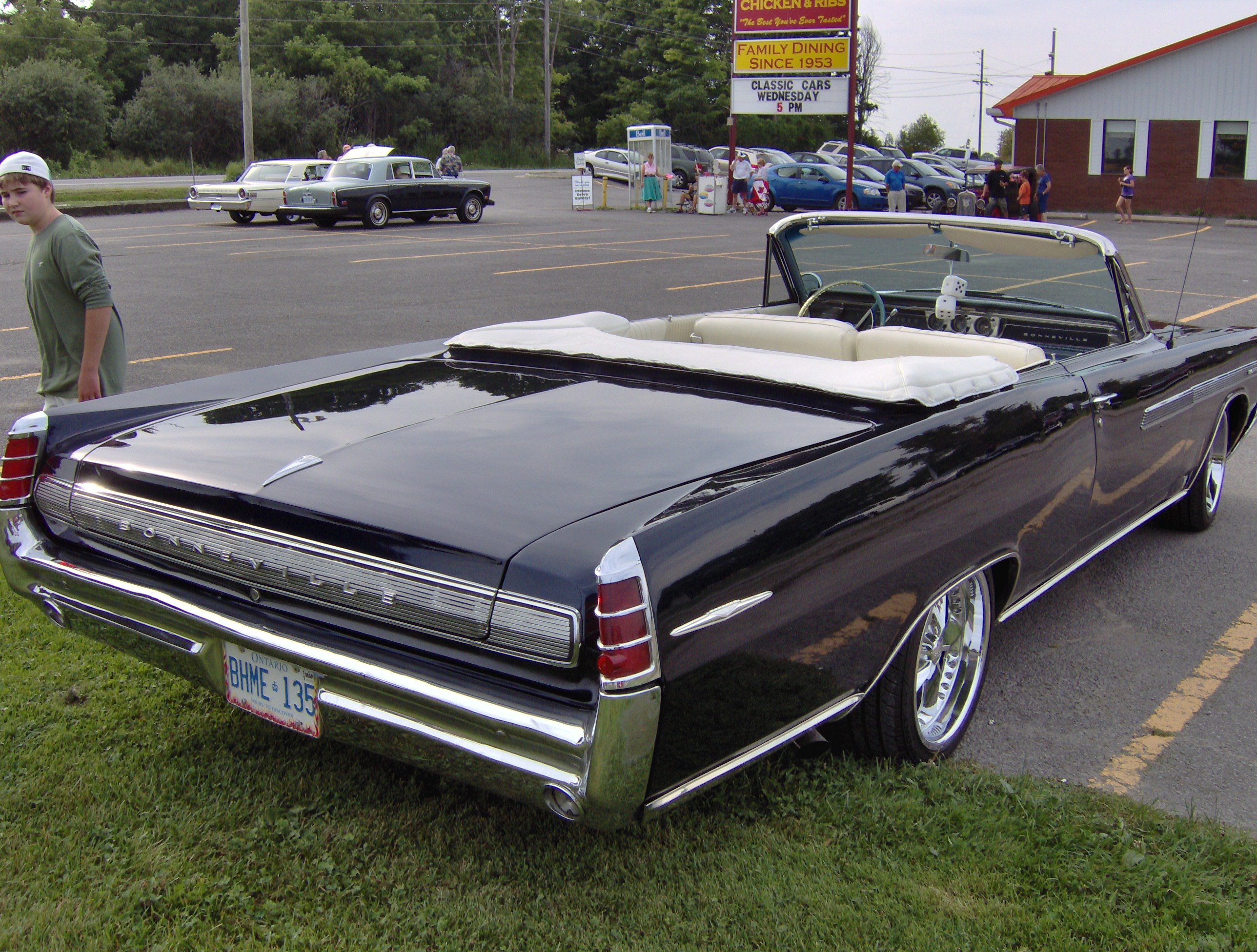 1963 Pontiac Bonneville convertible. | Flickr - Photo Sharing!