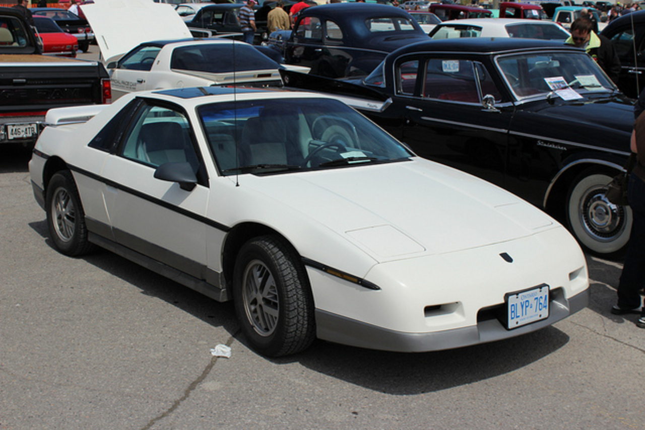 1985 Pontiac Fiero GT coupe | Flickr - Photo Sharing!
