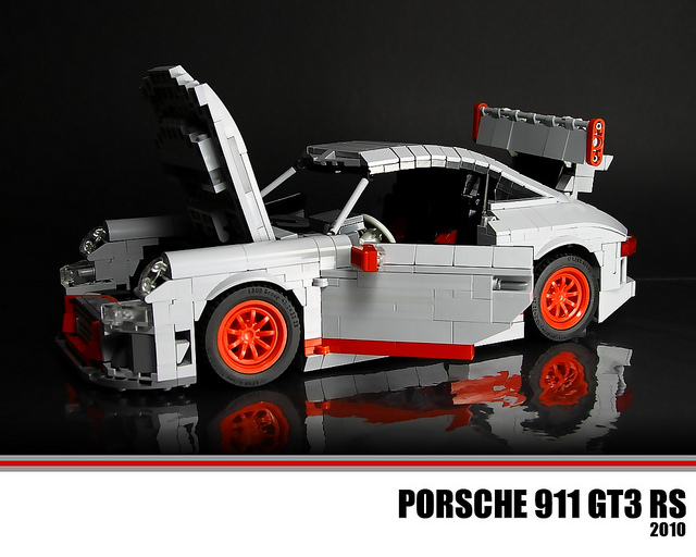 LEGO Porsche 911 GT3 RS | Flickr - Photo Sharing!