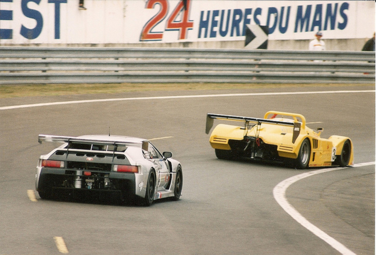The Esses - Le Mans 1995 | Flickr - Photo Sharing!