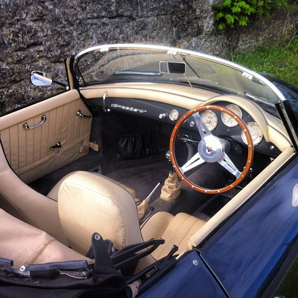 Chesil Speedster interior (Porsche 356 Speedster replica) | Flickr ...