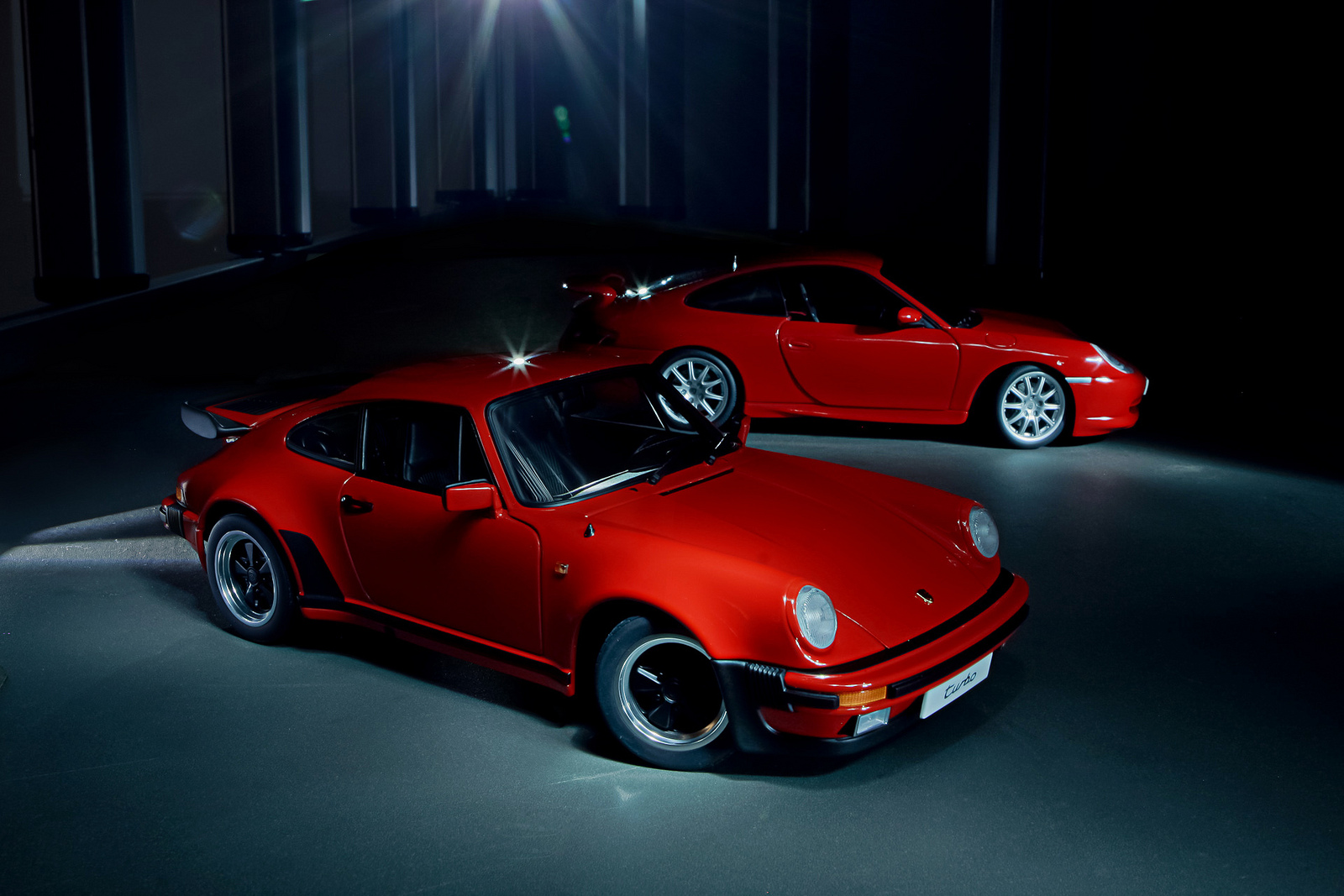 1986 Porsche 911 3.3 turbo + 1999 Porsche 911 GT3 | Flickr - Photo ...