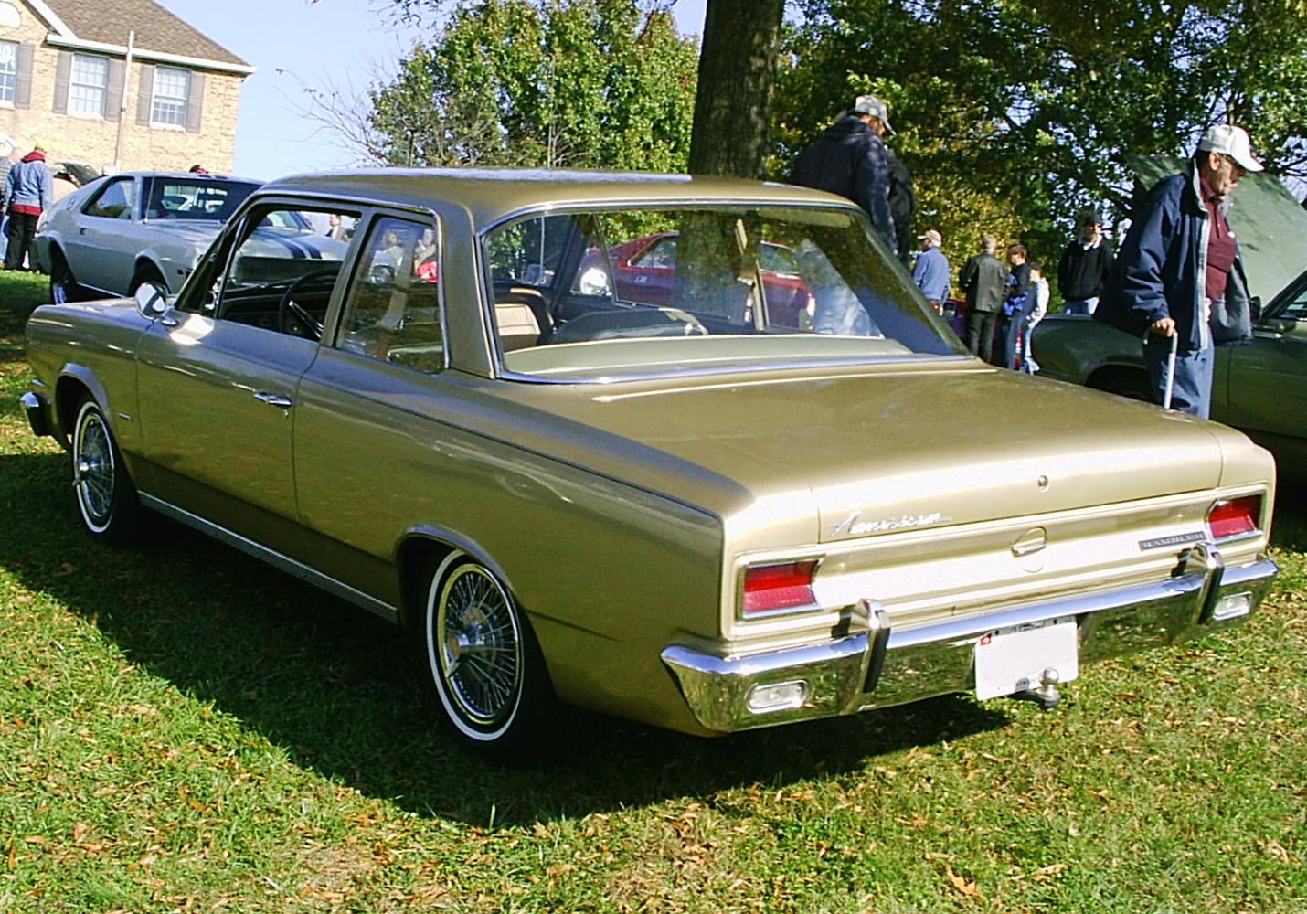 Rambler American on Custom Dodge Dakota Seat Covers