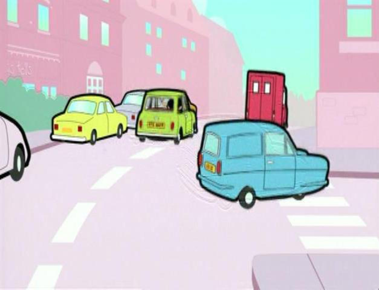 "IMCDb.org: Reliant Regal Supervan III in ""Mr. Bean: The Animated ..."