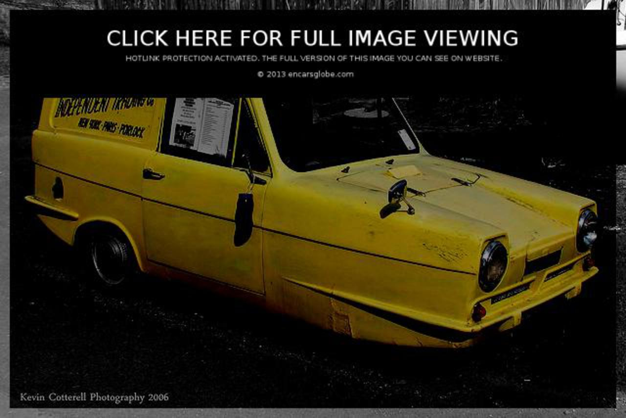 Reliant Regal Supervan III Photo Gallery: Photo #05 out of 12 ...