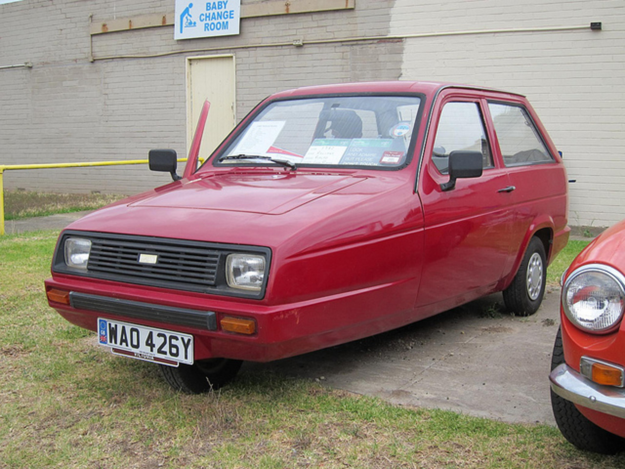 Reliant Rialto 1982 | Flickr - Photo Sharing!