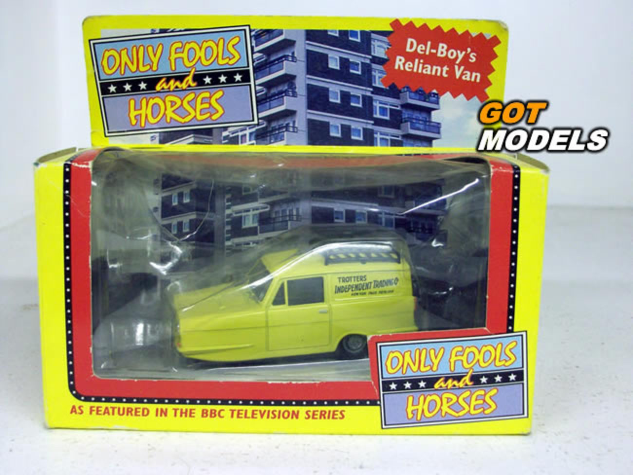 Reliant Regal Super VAN 1 43 Scale Corgi Model CAR Only Fools ...