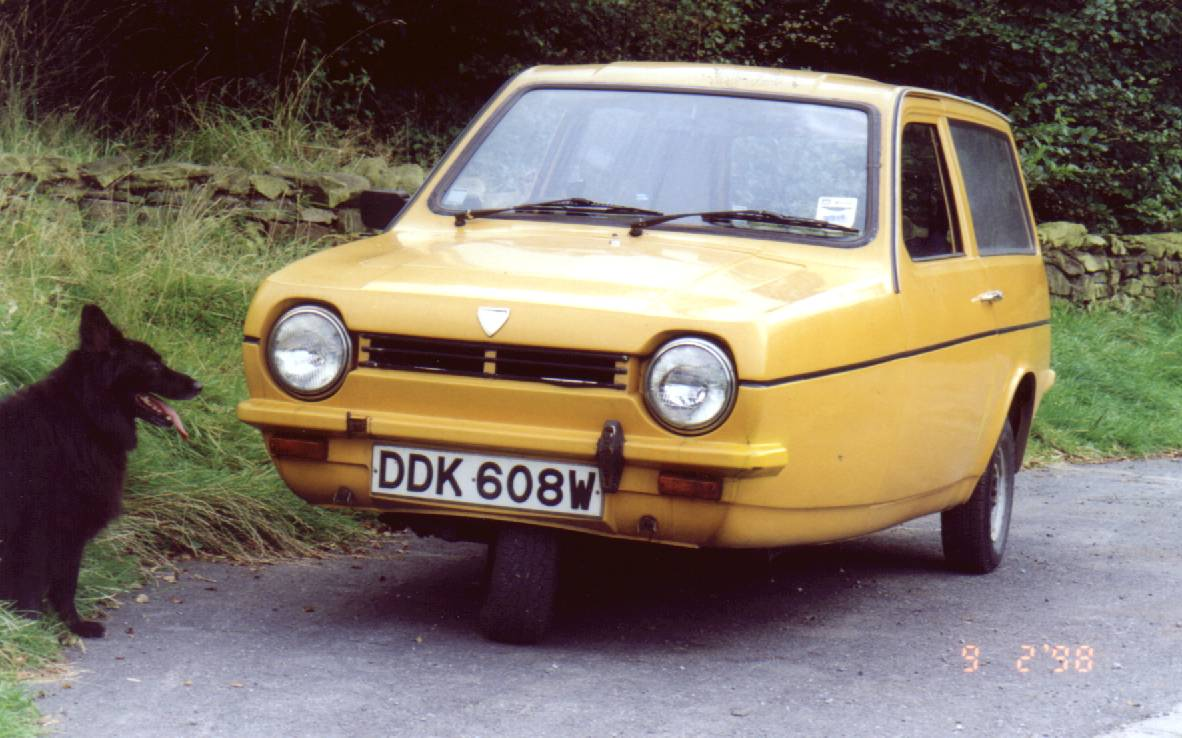 Reliant Regal. MotoBurg