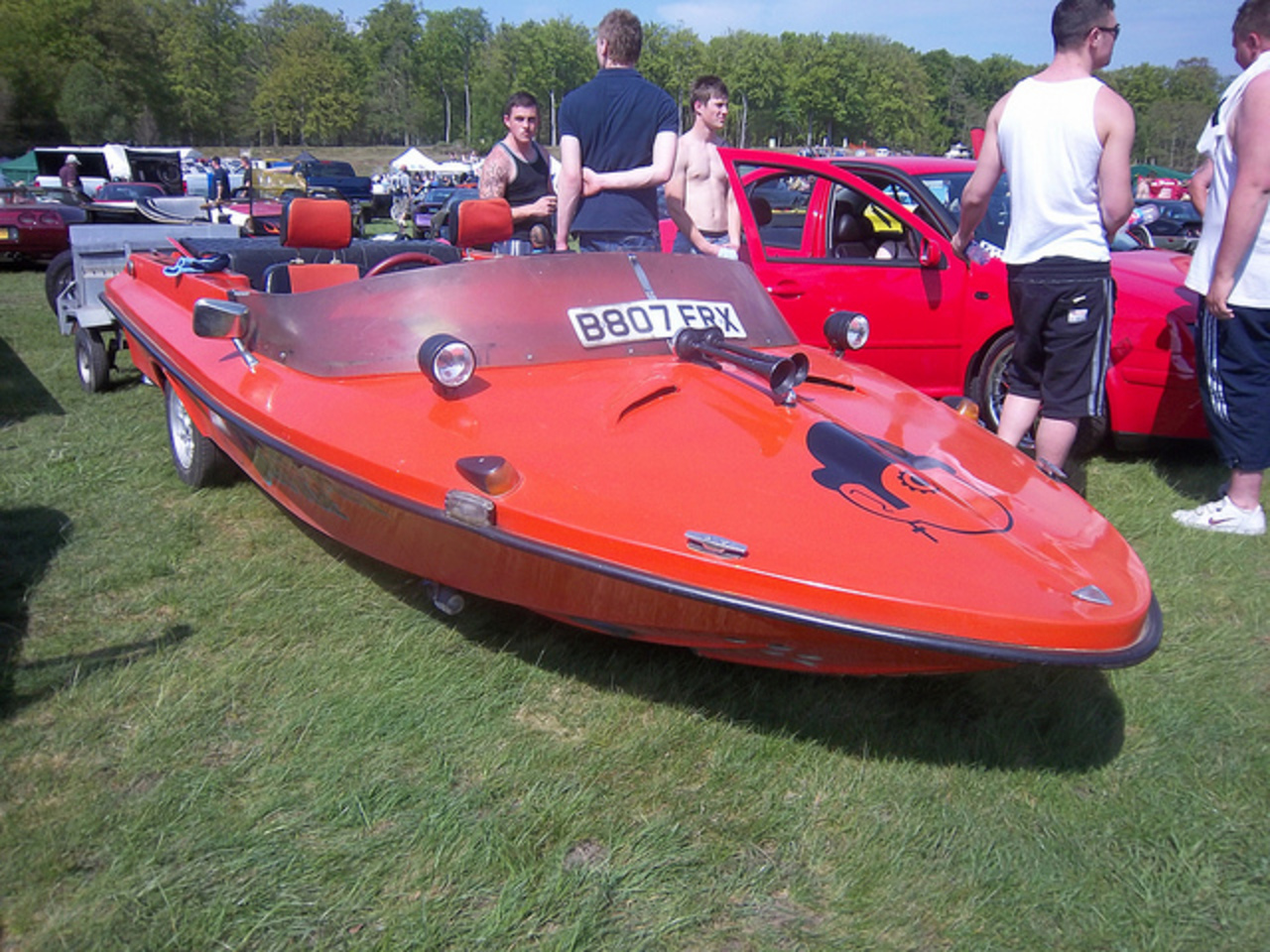 Speedboat car (Reliant Rialto-based) | Flickr - Photo Sharing!