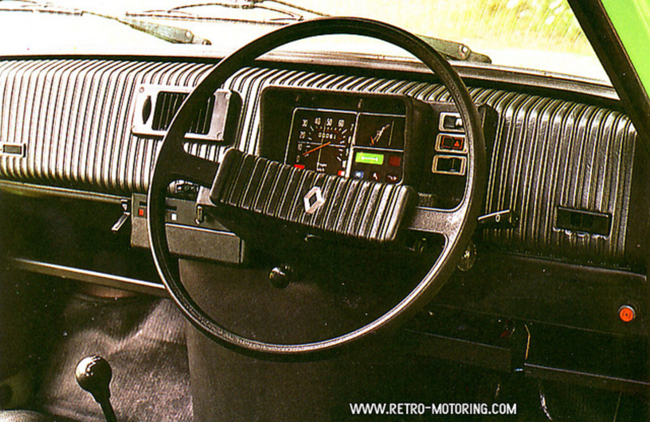 Renault 5 TL Dashboard | Flickr - Photo Sharing!
