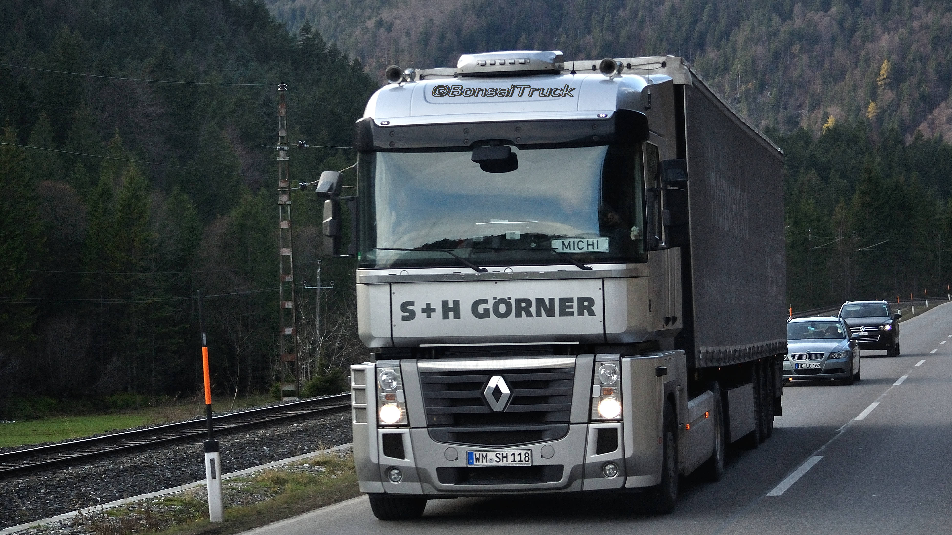 D - S+H Görner Renault Magnum | Flickr - Photo Sharing!