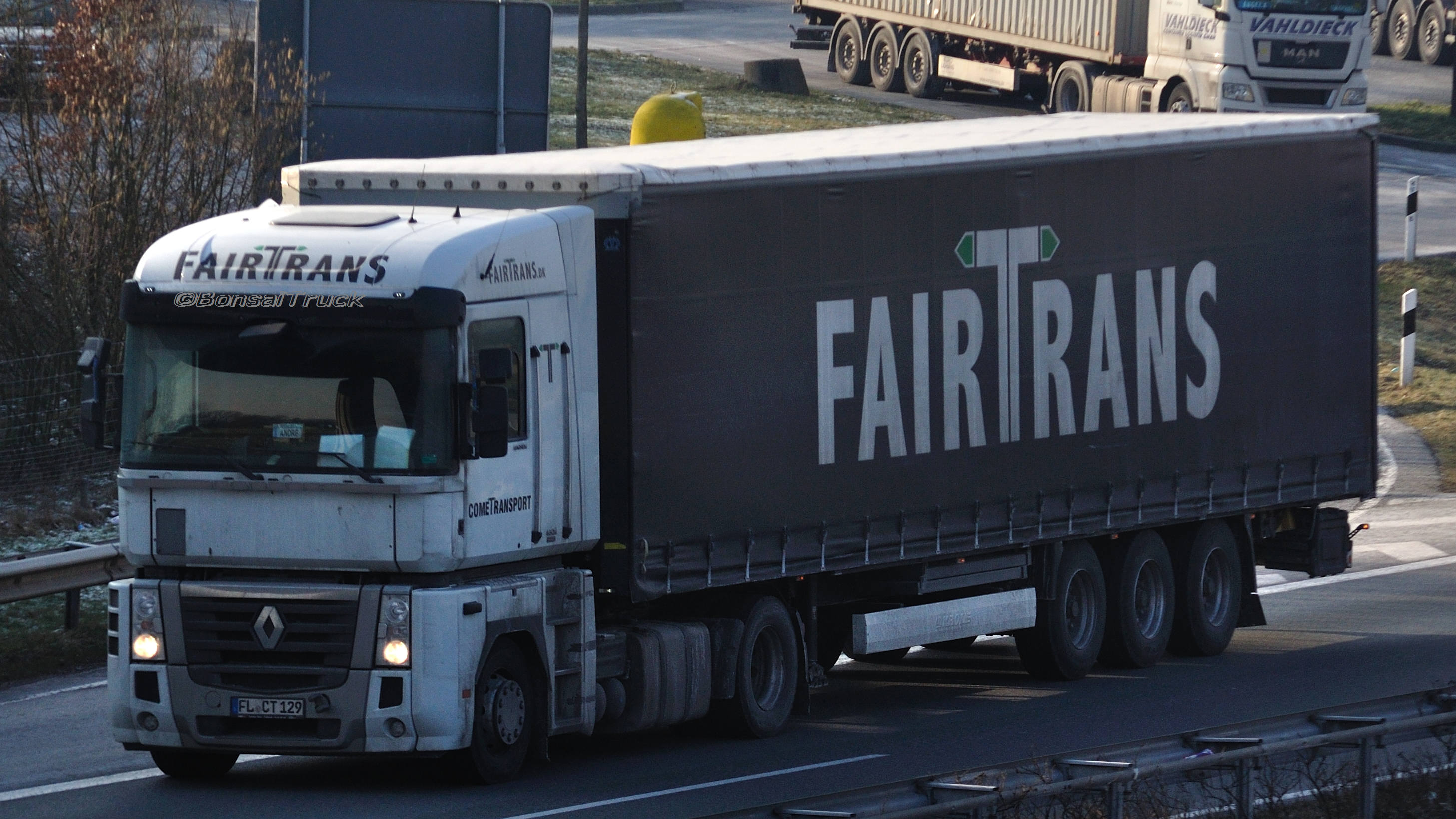D - Cometransport Fairtrans Renault Magnum | Flickr - Photo Sharing!