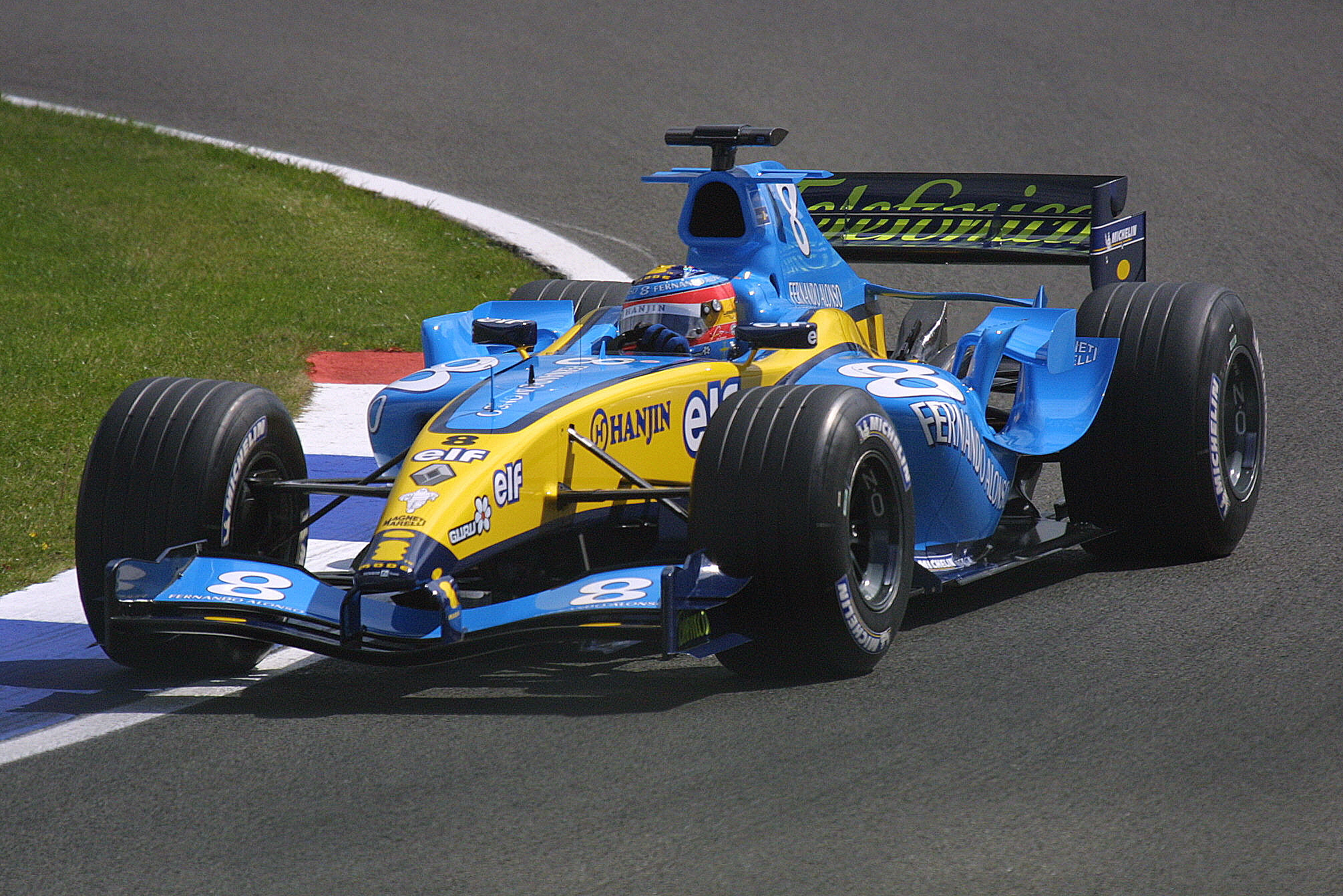 Fernando Alonso - Renault R24 Renault V10 | Flickr - Photo Sharing!