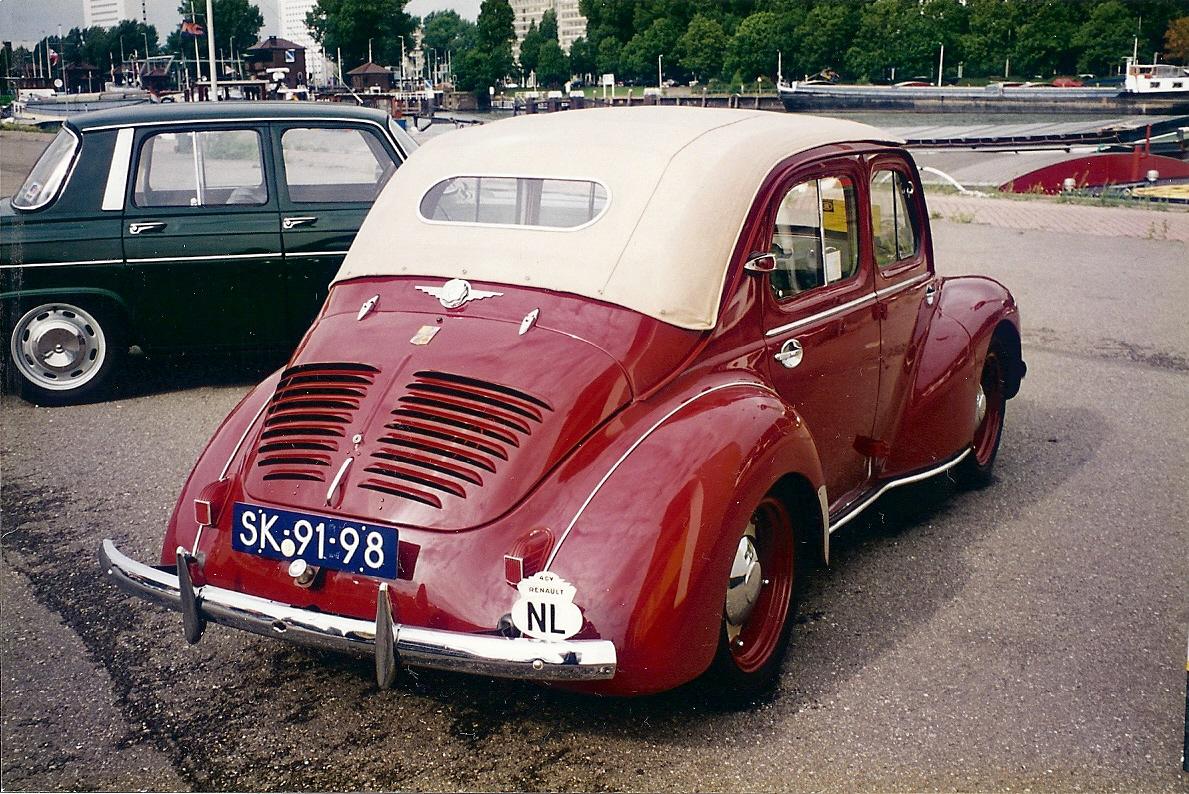 TopWorldAuto >> Photos of Renault 4CV - photo galleries