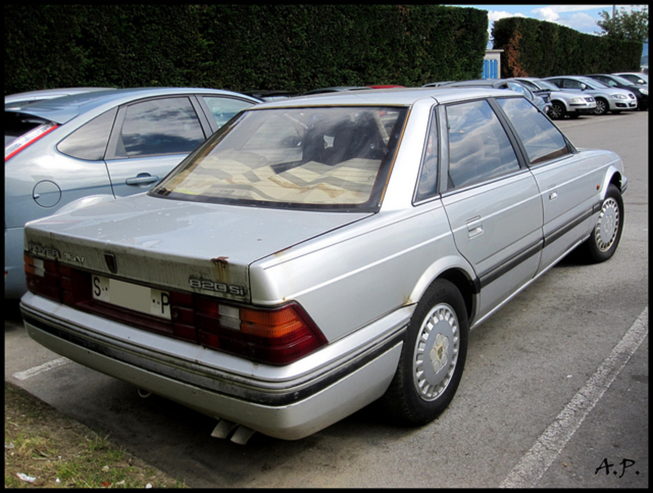 1987 Rover 820 Si | Flickr - Photo Sharing!