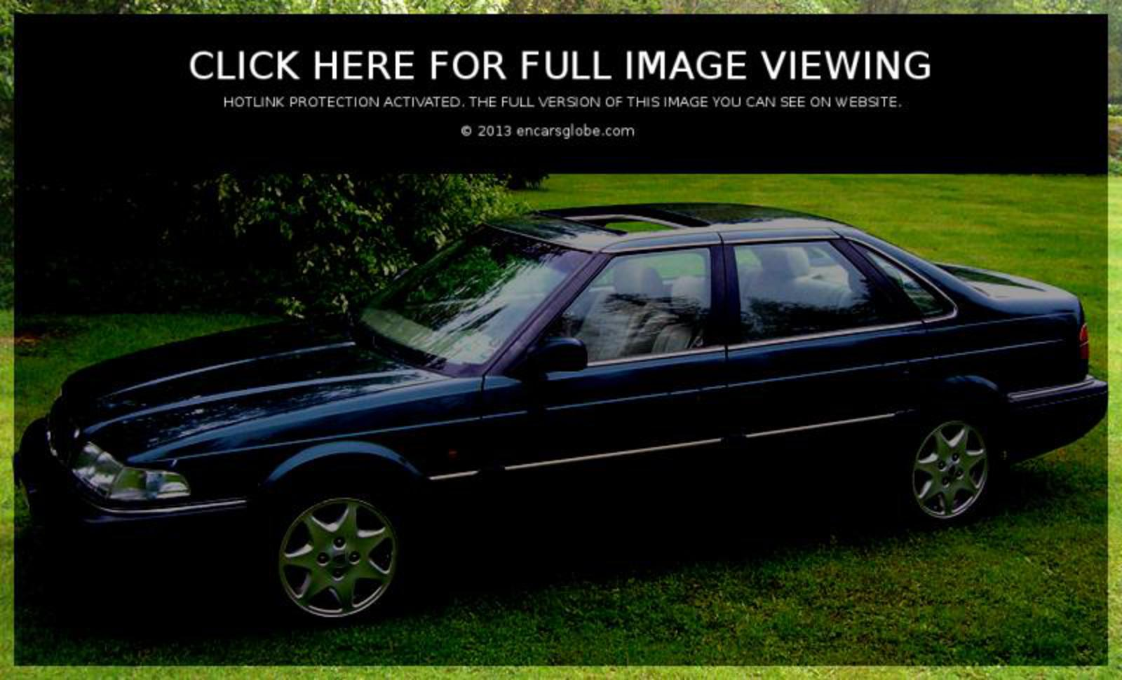 Rover 820 SI: Photo gallery, complete information about model ...