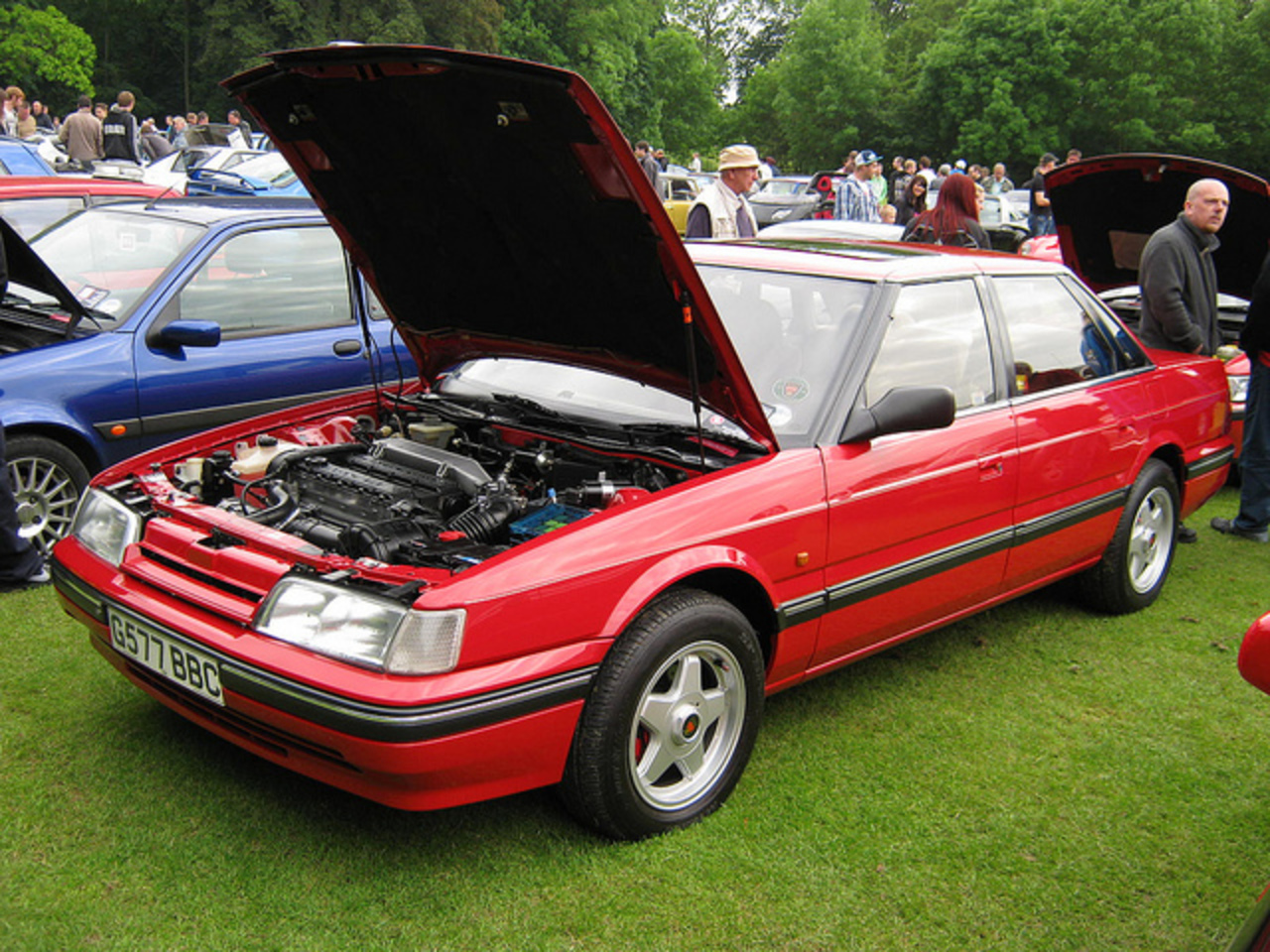 FEBRUARY 1990 ROVER 820 SI 1994cc G577BBC | Flickr - Photo Sharing!