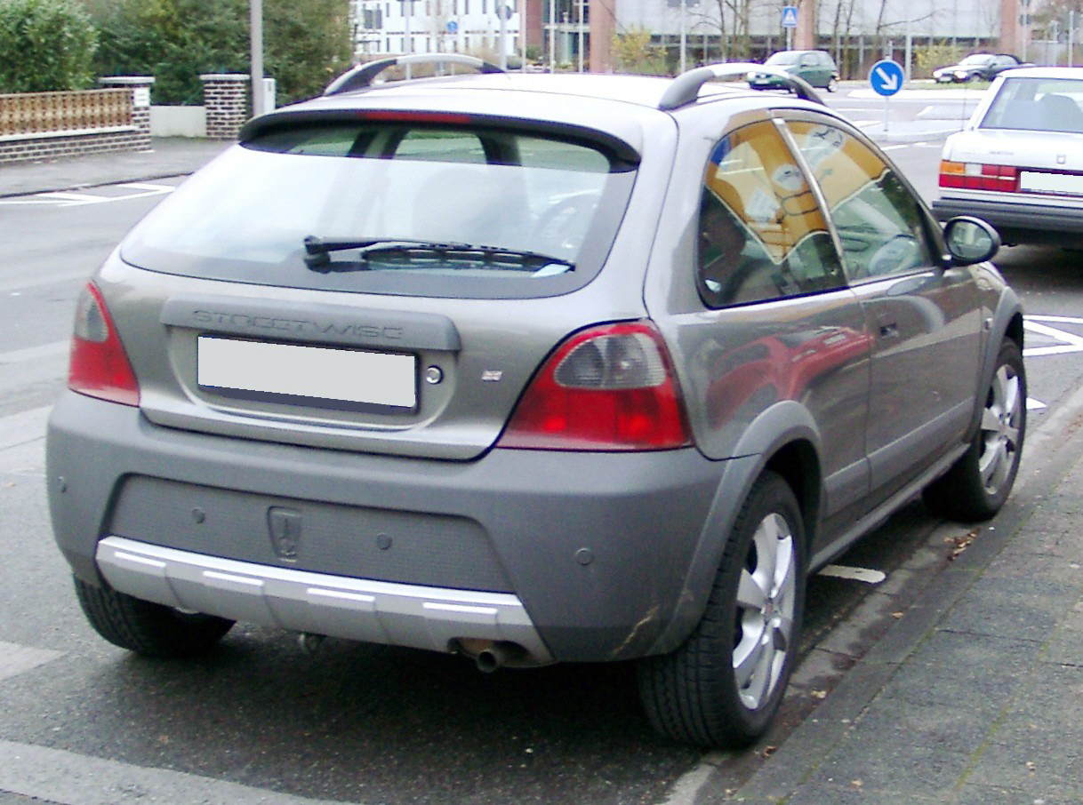 File:Rover Streetwise rear 20071212.jpg - Wikimedia Commons