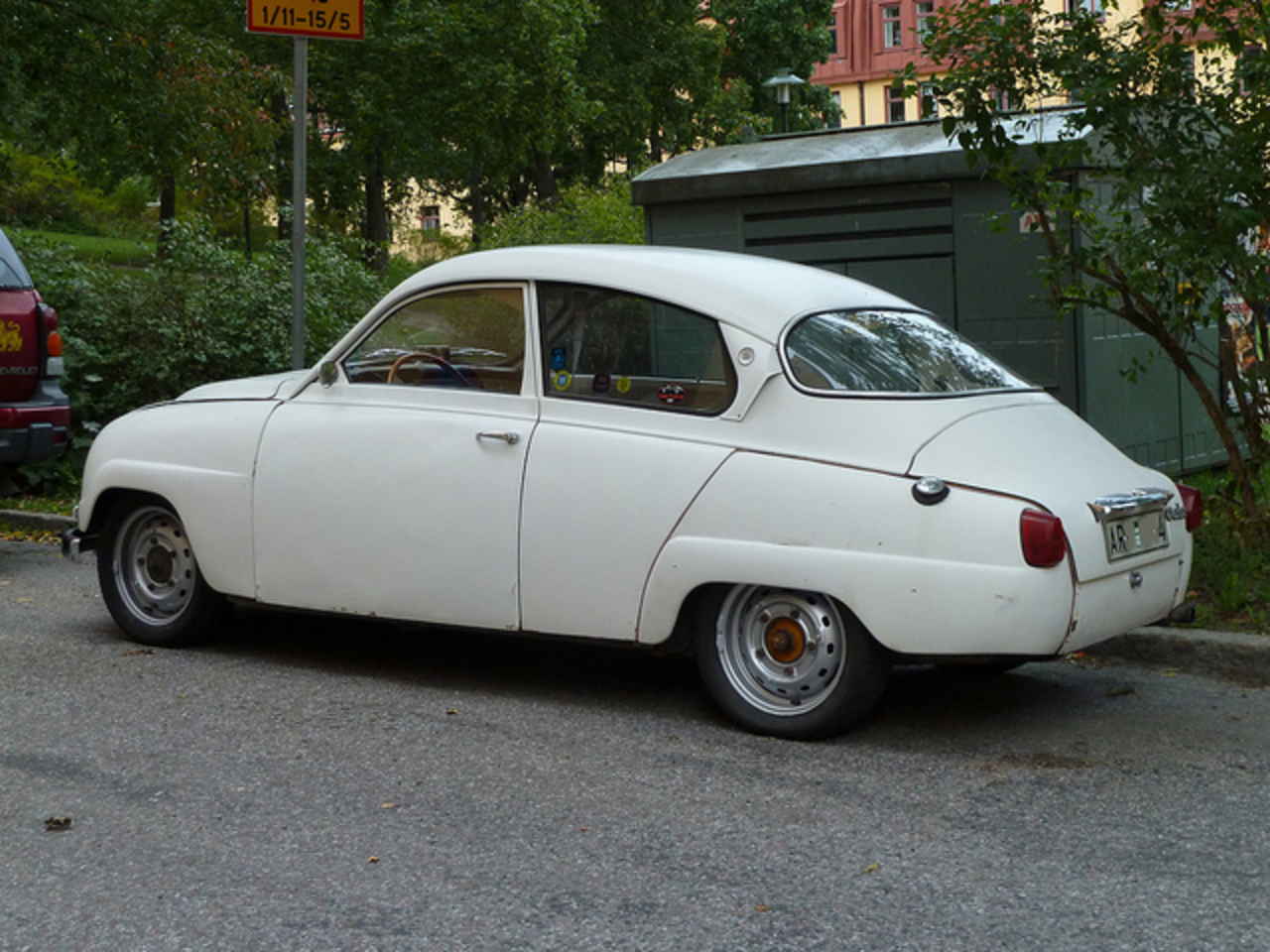 SAAB 96 DE LUXE 1961 2 | Flickr - Photo Sharing!