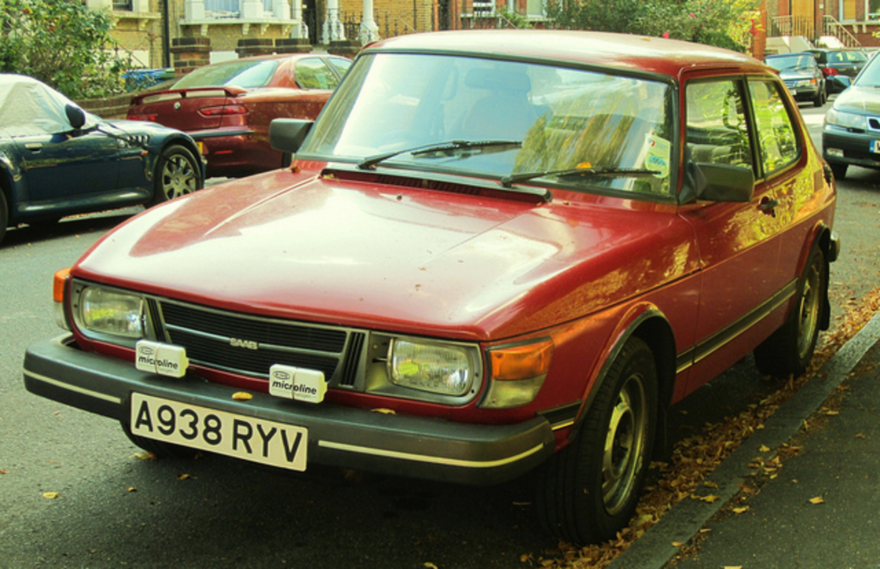 1984 Saab 99 GL. | Flickr - Photo Sharing!
