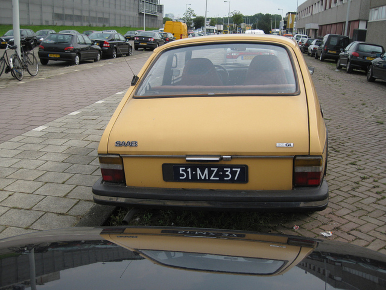 51-MZ-37 SAAB 99 GL combi coupé, 23-8-1976 | Flickr - Photo Sharing!