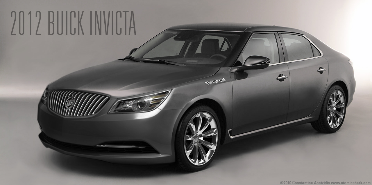 2012 Buick Invicta Concept based on the new Saab 9-5 | Flickr ...