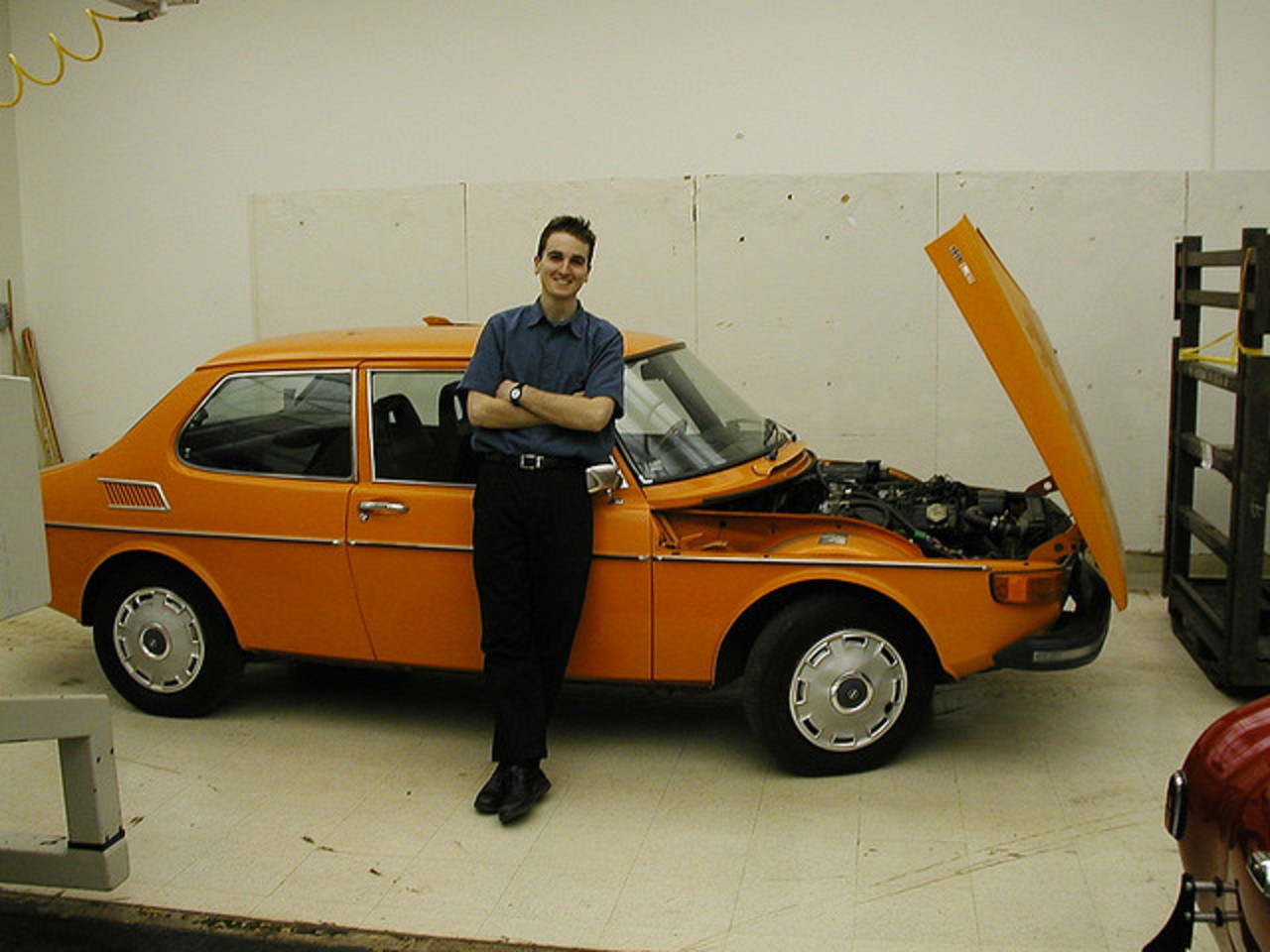 My Saab 99 shortly after cross-country delivery | Flickr - Photo ...