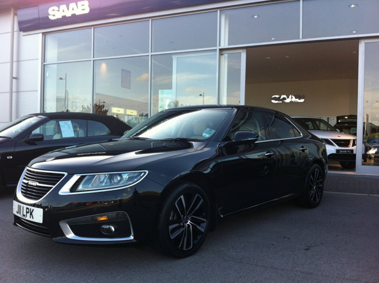 New Saab 9-5 (2) - a gallery on Flickr