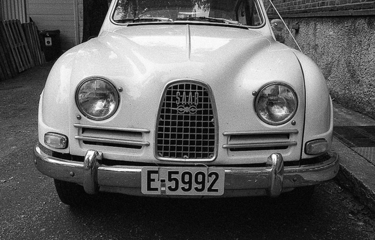 SAAB 96 De Luxe 1964 | Flickr - Photo Sharing!