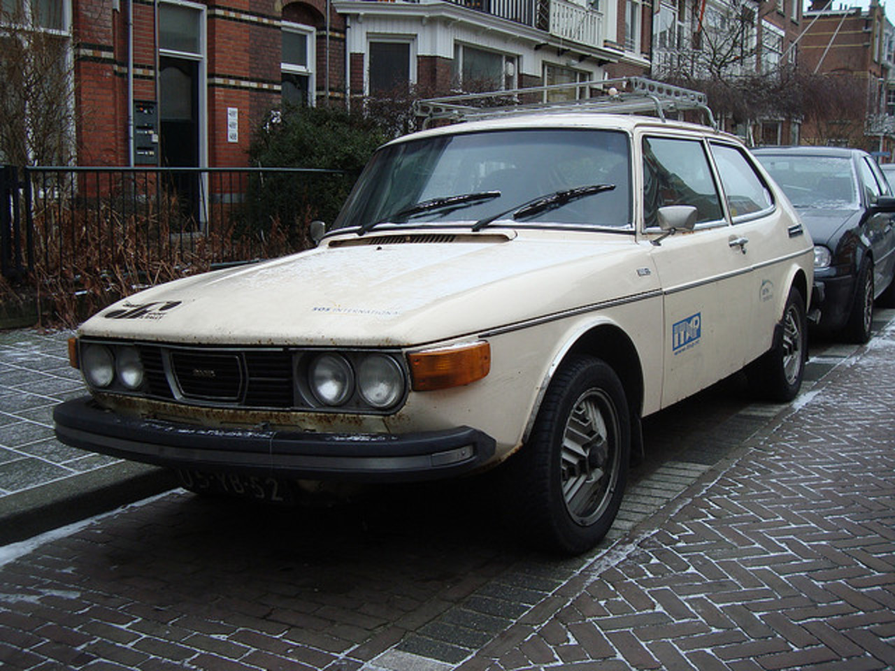 1975 Saab 99 GL (US spec headlights) | Flickr - Photo Sharing!