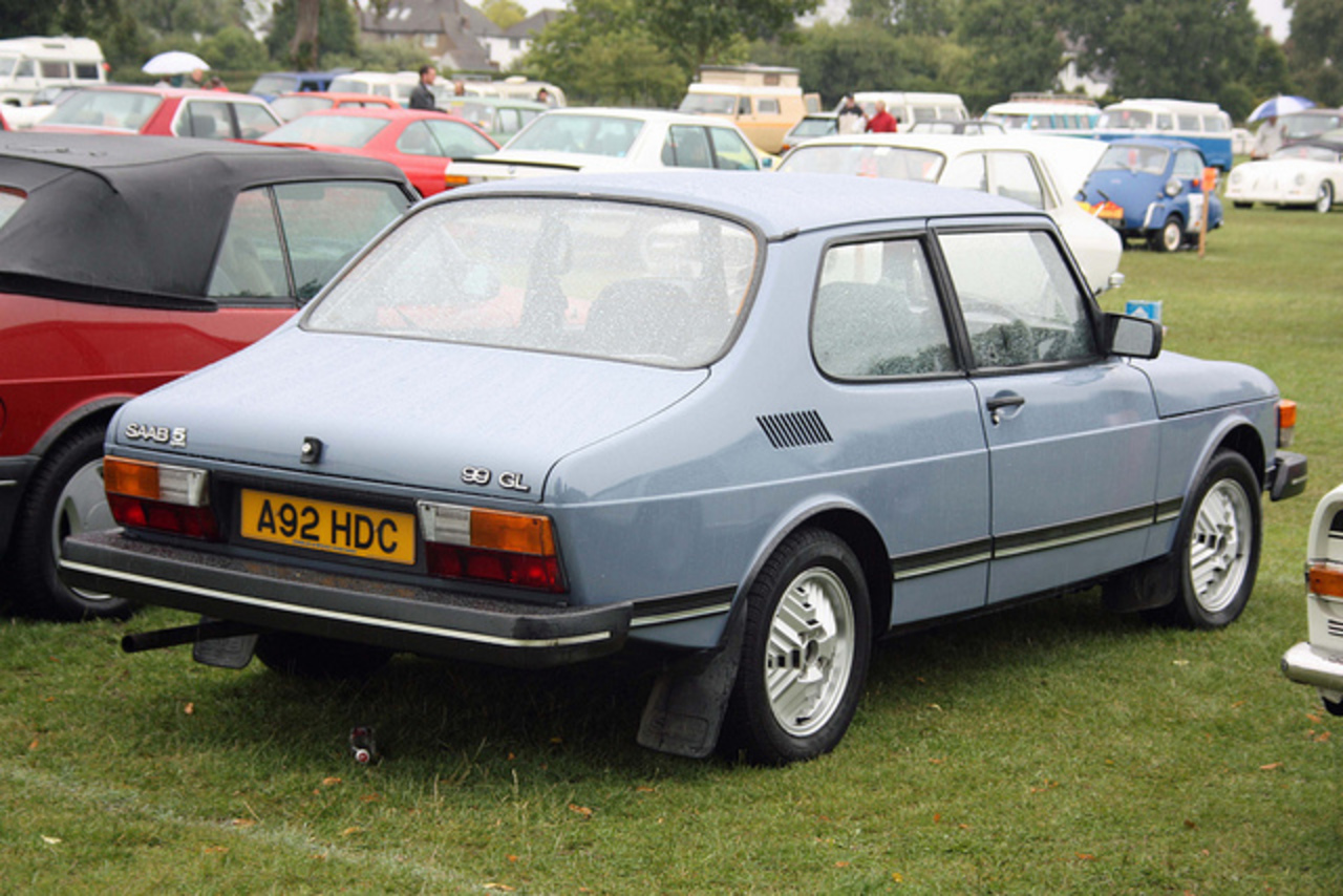 1984 Saab 99 GL | Flickr - Photo Sharing!