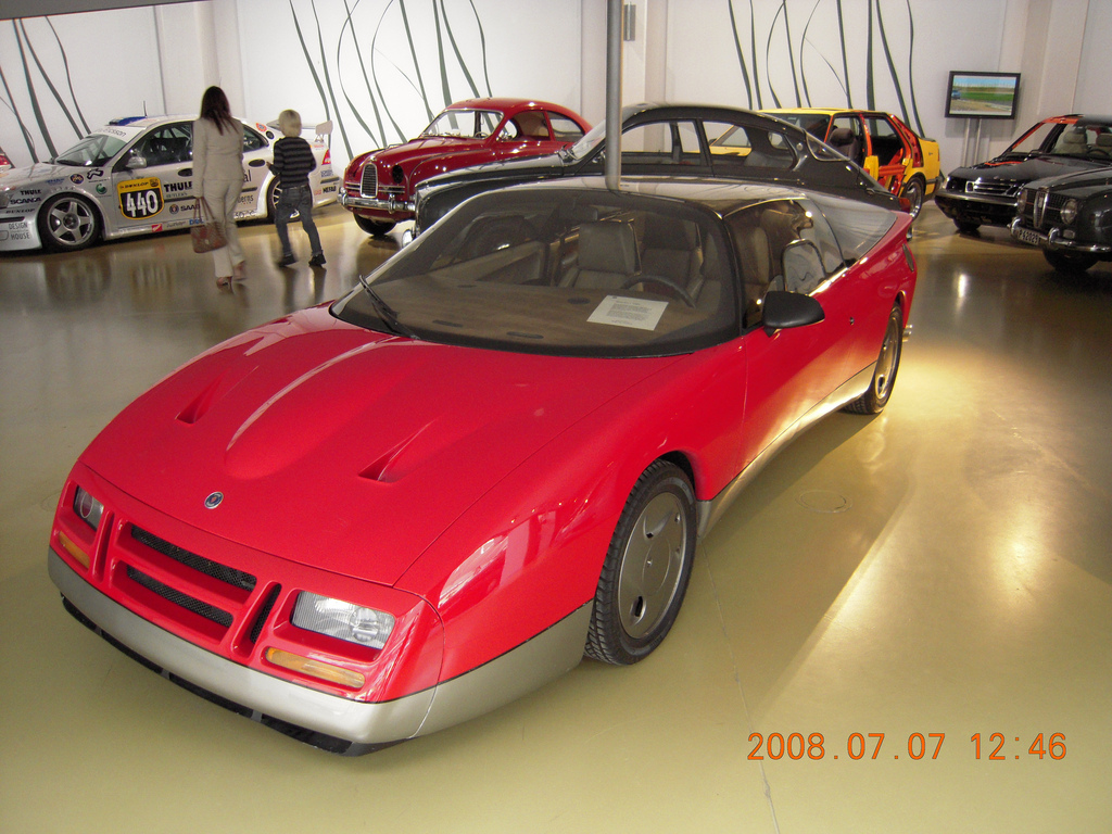 Saab EV-1 1985 | Flickr - Photo Sharing!