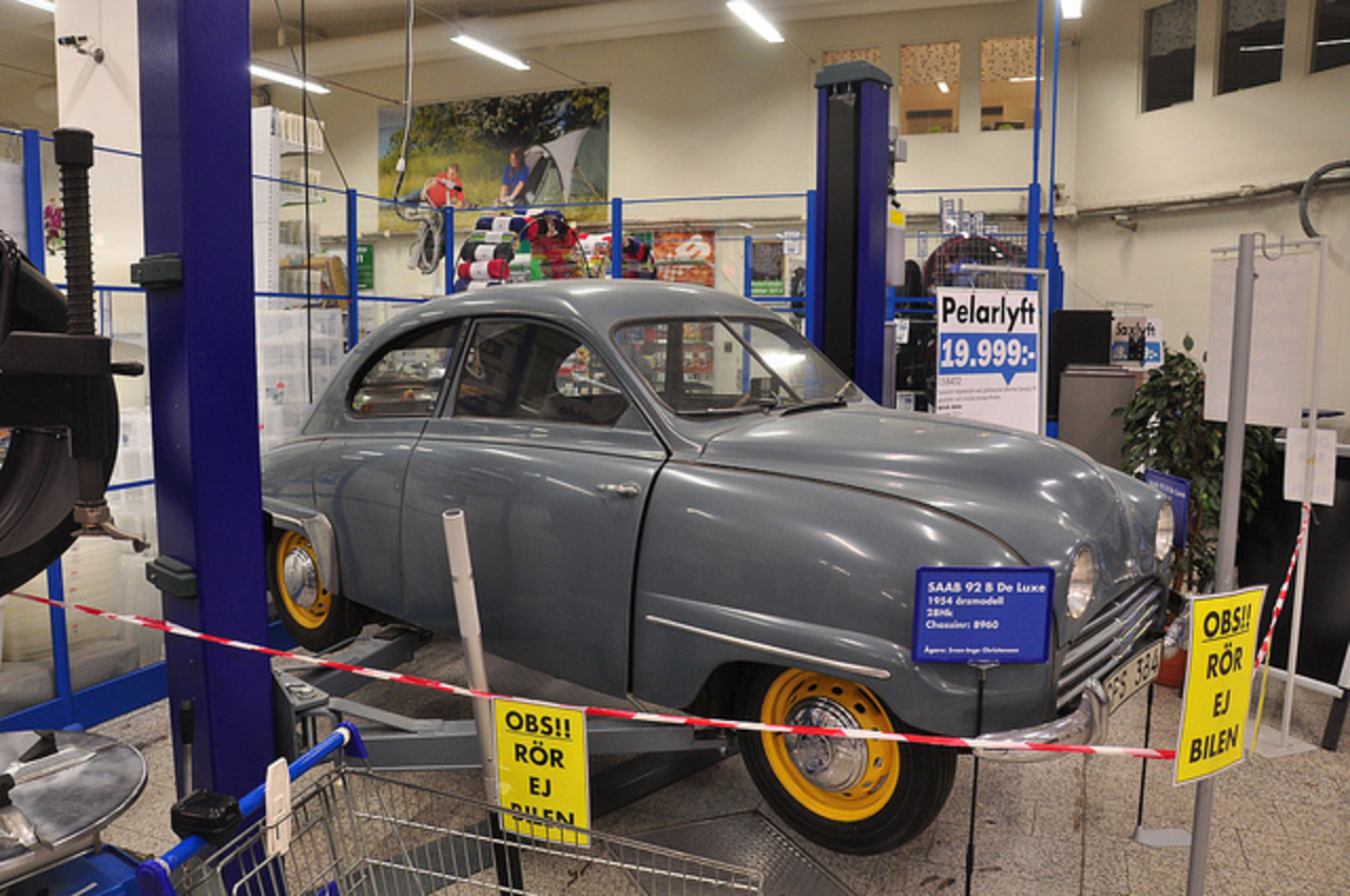 Saab 92B Deluxe | Flickr - Photo Sharing!