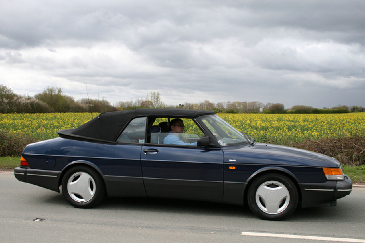 1991 Saab 900 T16S convertible | Flickr - Photo Sharing!