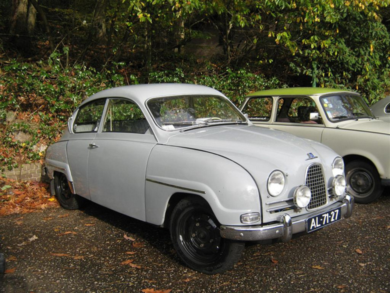 SAAB 96 de luxe 1962 / 2004 Apeldoorn | Flickr - Photo Sharing!