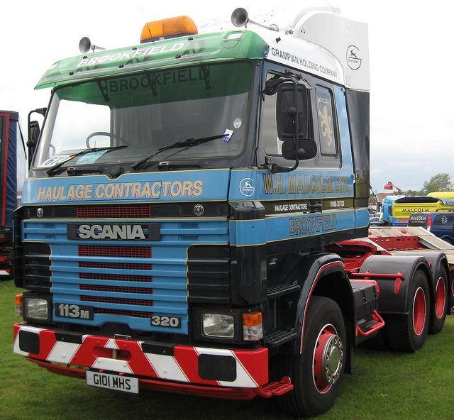 W.H.Malcolm Scania 113m-320 G101MHS | Flickr - Photo Sharing!