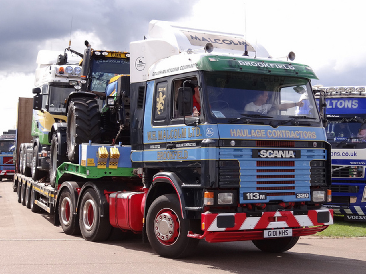 The Malcolm Group - Scania 113M 320 (G101 MHS) | Flickr - Photo ...