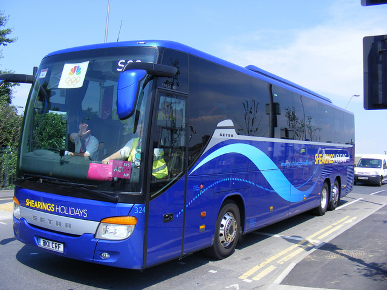 BK11 CRF 324 of Shearings Holidays Wigan. Setra S416 GT HD ...