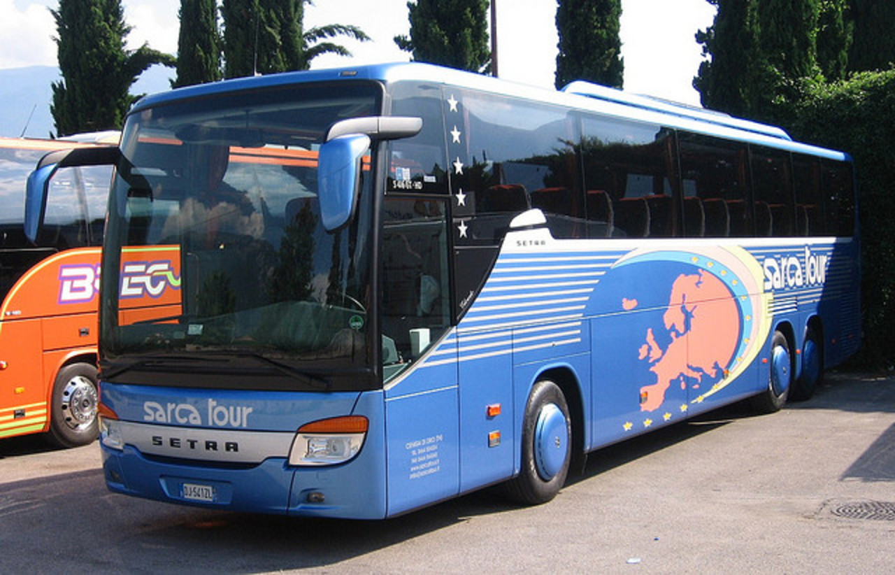 Setra S416 GT HD Sarca Tour (Ceniga di Dro-TN) | Flickr - Photo ...