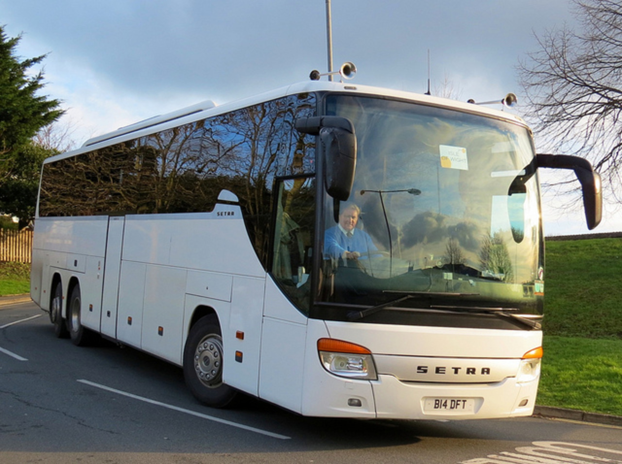 Just Go Holidays (Darley Ford Travel) Setra S416-GT-HD - B14 DFT ...