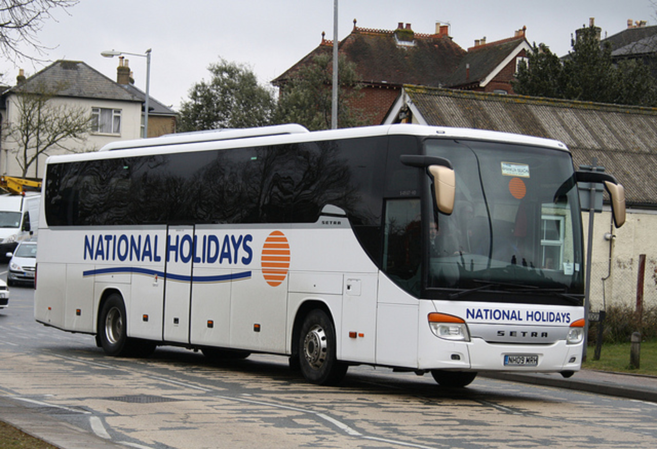 National Holidays Setra S 415 GT - NH09 MRH | Flickr - Photo Sharing!