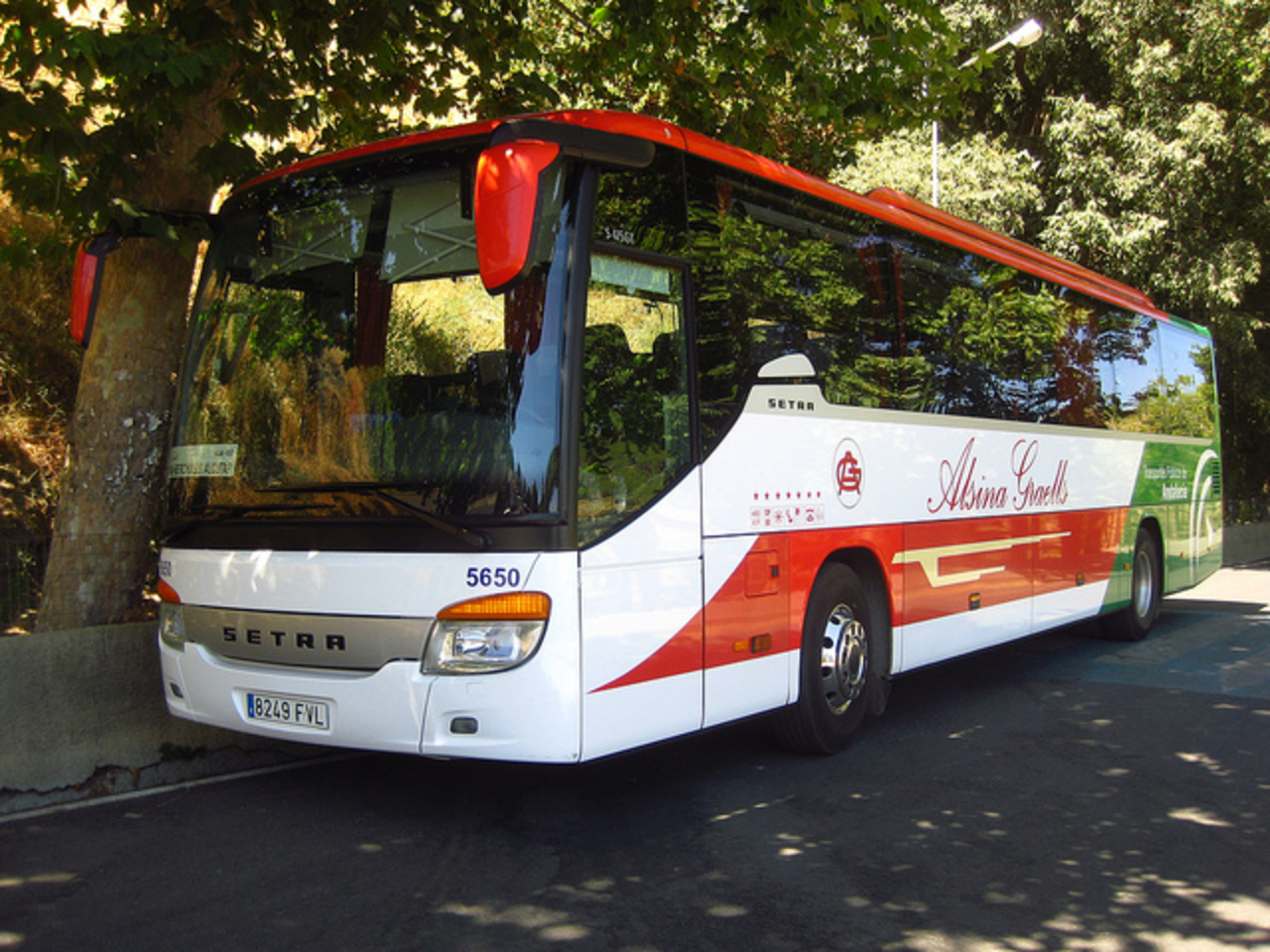 Setra S 415 GT de Alsina Graells Sur | Flickr - Photo Sharing!
