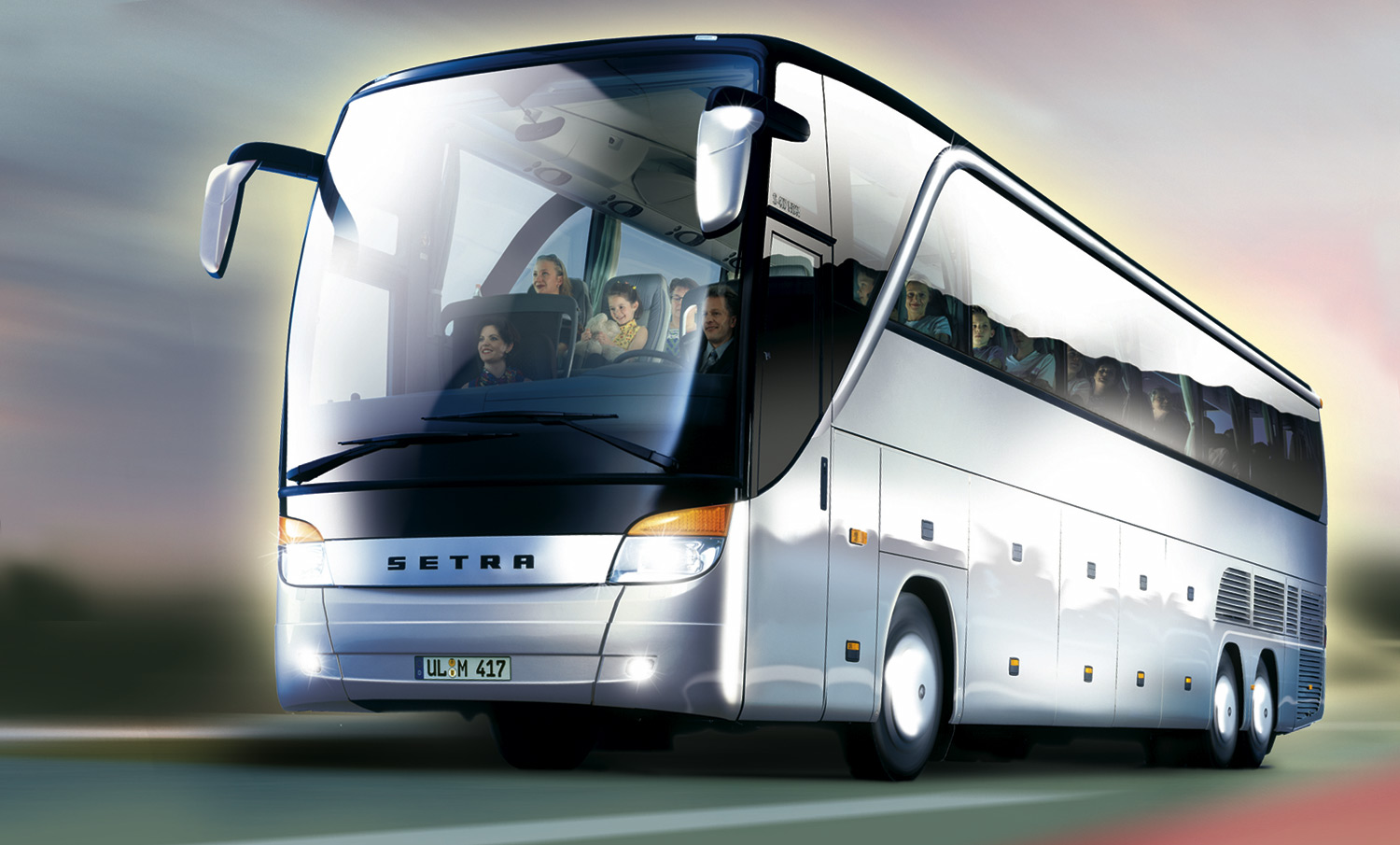 Setra S 417 picture # 35354 | Setra photo gallery | CarsBase.