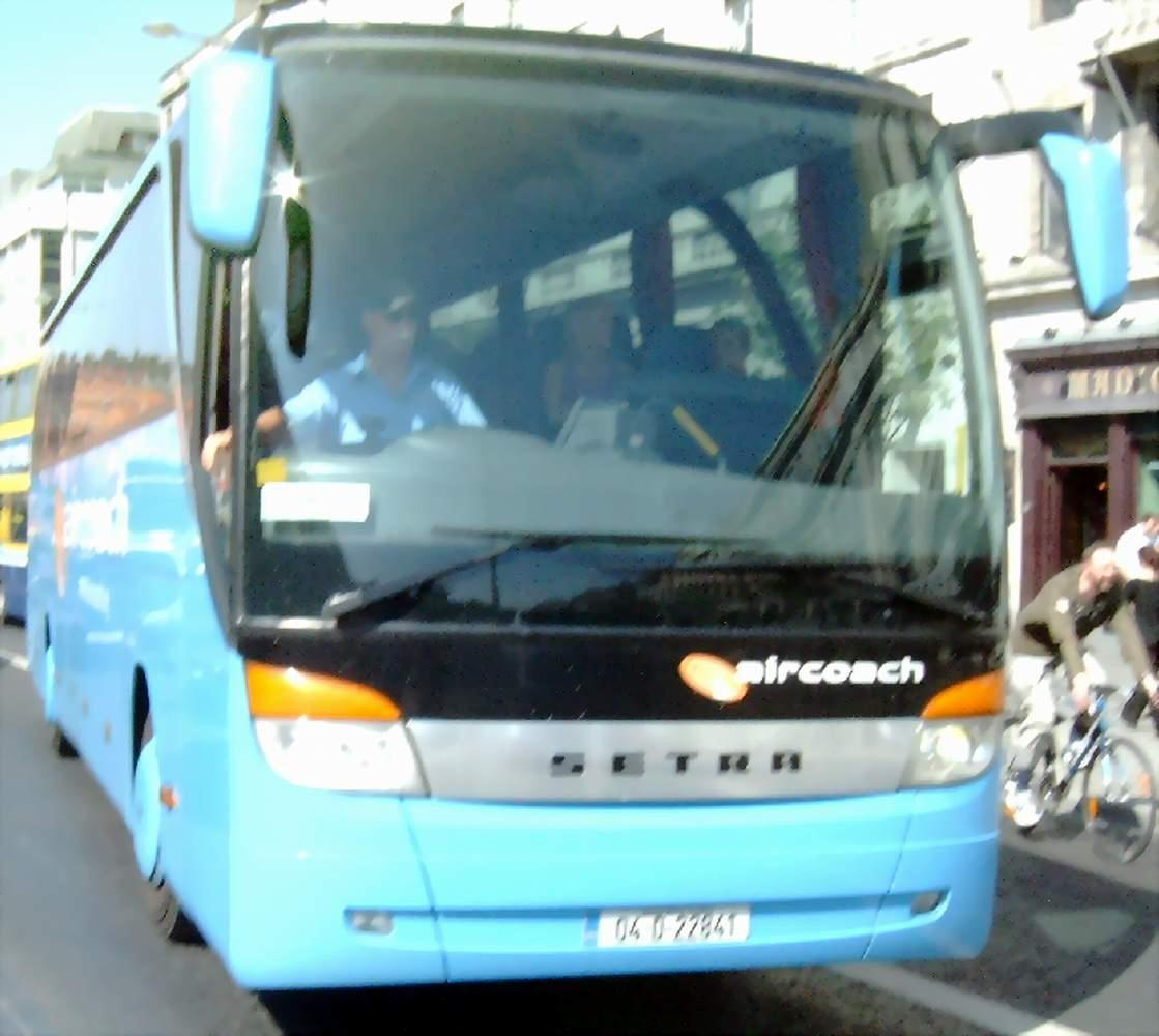 First Aircoach Setra S 415 HD | Flickr - Photo Sharing!