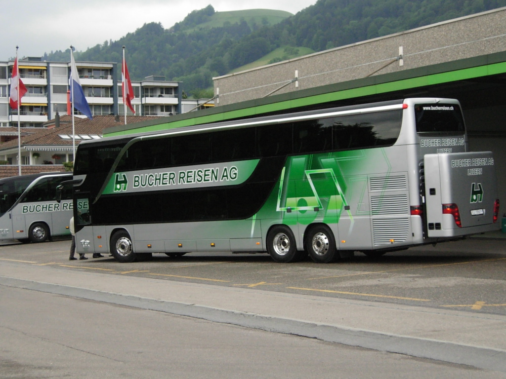 Setra S431 DT of Bucher Travel, Lucerne, Switzerland | Flickr ...
