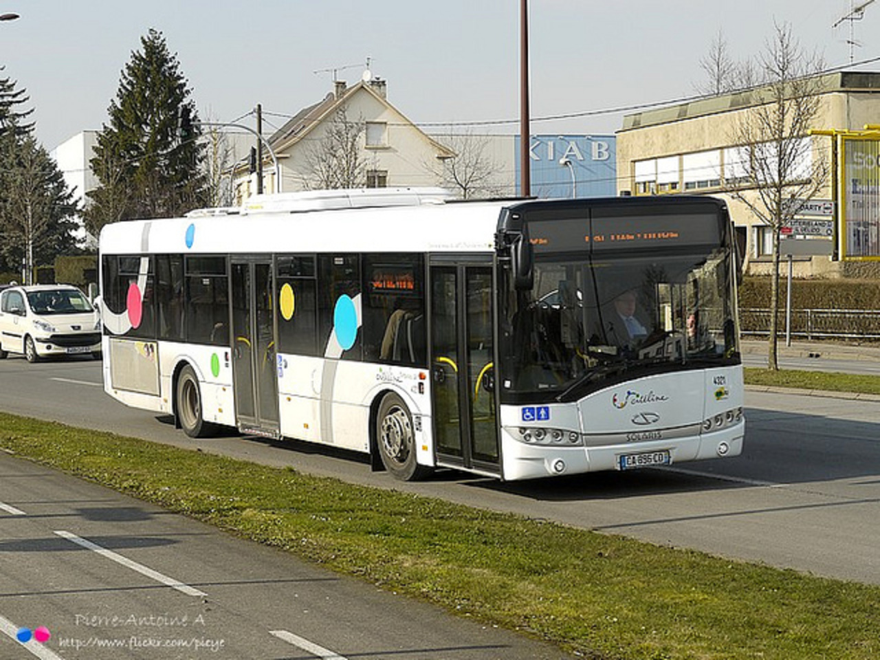 Solaris Urbino 12 Citéline (Trans Fensch) n°4321 | Flickr - Photo ...