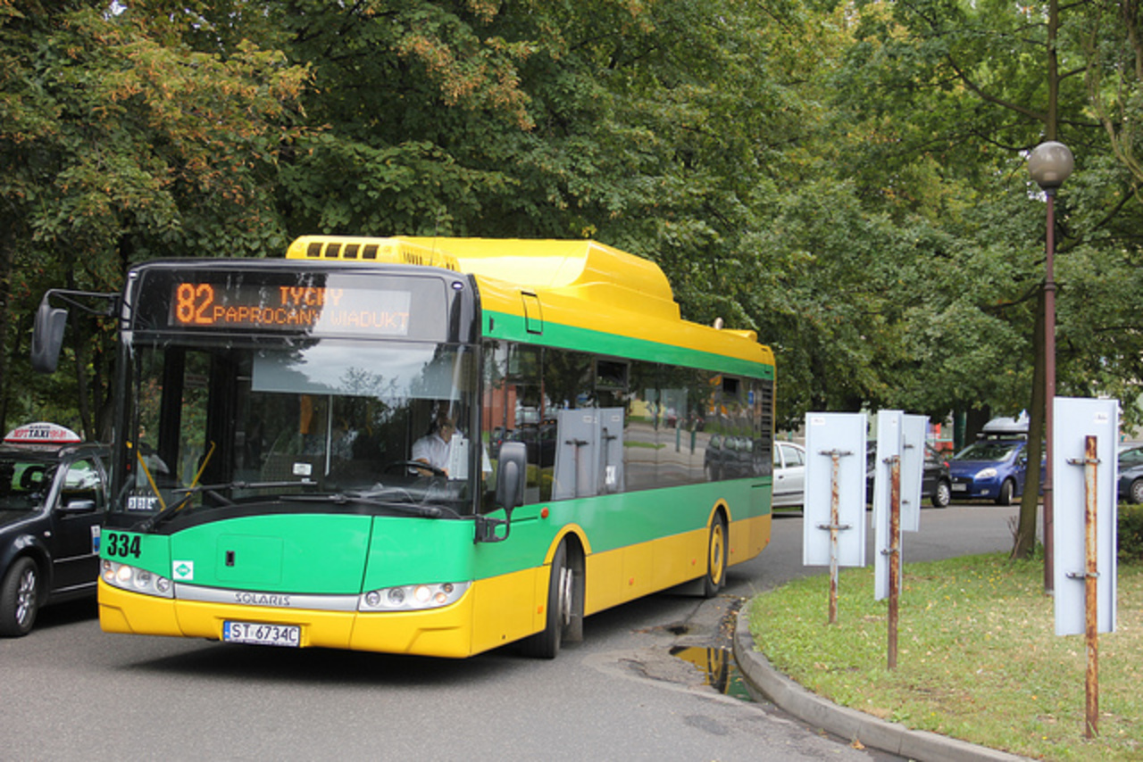 PKM Solaris Urbino 12 CNG bus #334 , Tychy 25.08.2012 | Flickr ...